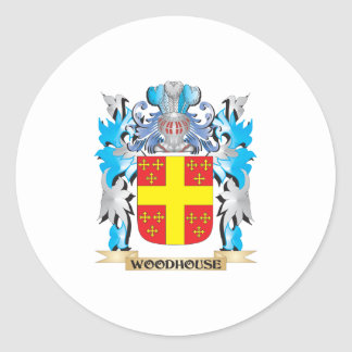 Woodhouse Coat of Arms - Family Crest Classic Round Sticker