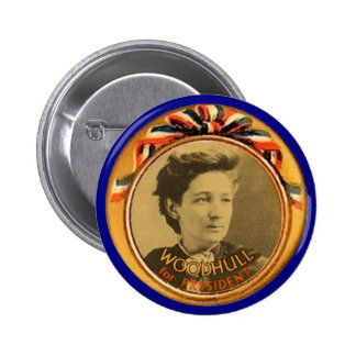 Woodhull for President Pinback Button