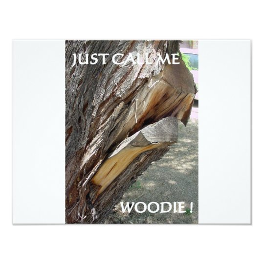WOODIE 1 AND 2 CARD