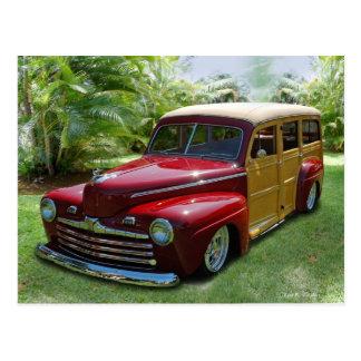 Woodie hawaiano tarjetas postales