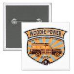 Woodie Wagon Button