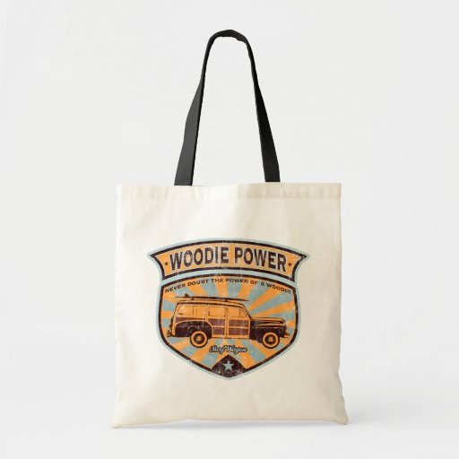 Woodie Wagon Canvas Bags