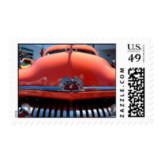 Woodie with a smile postage