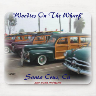 Woodies Car Show Mouse Pad