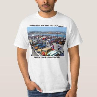 WOODIES EN la camiseta 2010 de SANTA CRUZ del