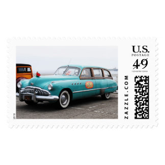 Woodies on the Wharf Postage