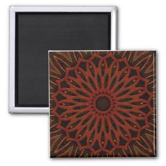 Woodland 2 Inch Square Magnet