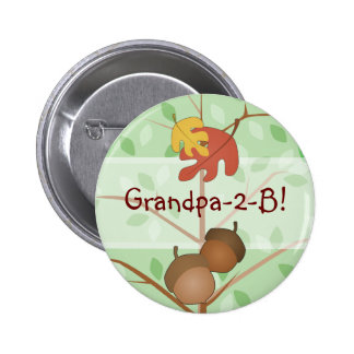 Woodland Acorns Button