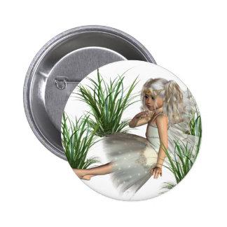 Woodland Angel Button