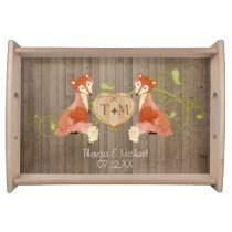Woodland Animal Creatures, Fox n Vines Weddings Serving Tray