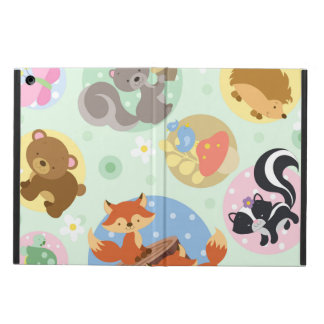 Woodland Animal iPad Air Case With No Kickstand