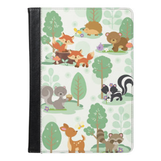 Woodland Animal iPad Air Folio Case