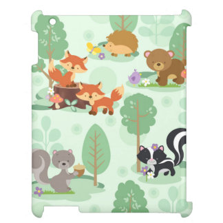 Woodland Animal iPad Case