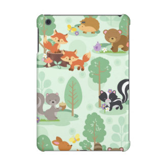 Woodland Animal iPad Mini 2 and iPad Mini 3 Case iPad Mini Retina Case