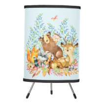 Woodland Animals Baby Nursery Lamp