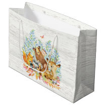 Woodland Animals Baby Shower Gift Bag