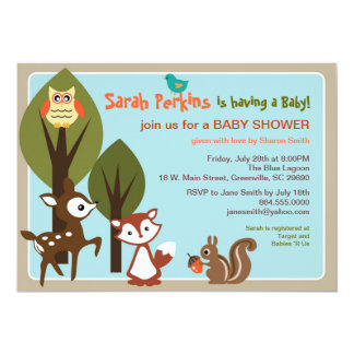 woodland creatures baby shower gifts on zazzle