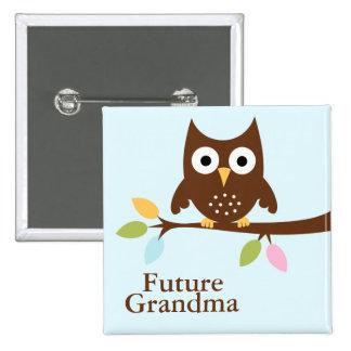 Woodland Animals Baby Shower Pinback Button