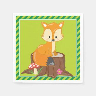 Woodland Animals | Fox Napkin