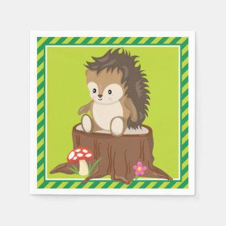 Woodland Animals | Hedgehog Napkin