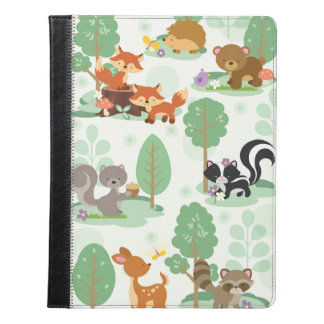 Woodland Animals iPad 2/3/4/ Folio Case