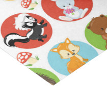 Woodland Animals Party tissue paper