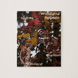 Woodland Animals Puzzle