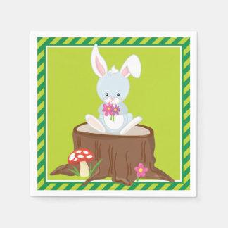 Woodland Animals | Rabbit Paper Napkin
