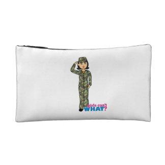 Woodland Army Camouflage Girl Makeup Bag