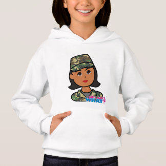 Woodland Army Camouflage Hoodie
