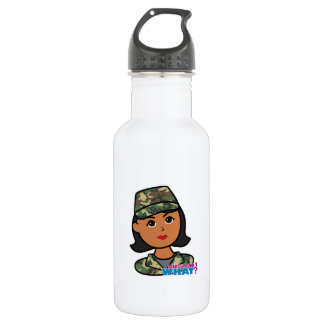 Woodland Army Camouflage Water Bottle
