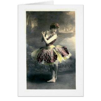 Woodland Ballerina Card