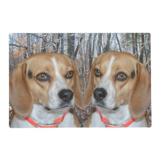Woodland Beagles Placemat