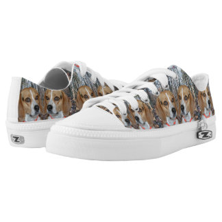 Woodland Beagles Printed Shoes