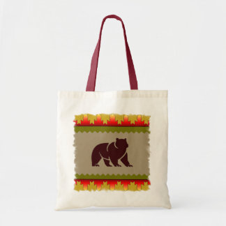 Woodland Bear Tote Bags