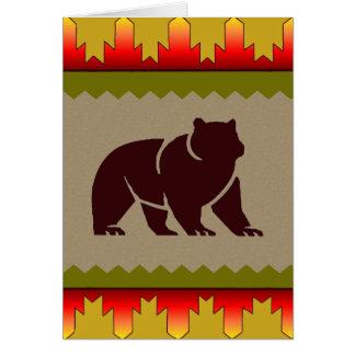Woodland Bear Card