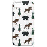 Woodland Bear Moose iPhone 5 Casemate Case iPhone 5 Cover
