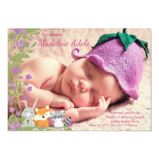 Woodland Birth Announcements