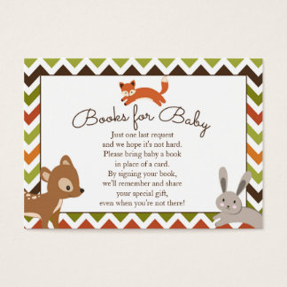 Woodland Books for Baby Insert - Book Request