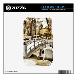 Woodland Bridge Skin For iPod Touch 4G