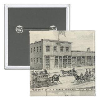 Woodland building, Yolo County farm Button
