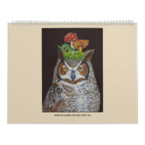 Woodland Calendar with Vicki Sawye® Art