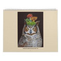 Woodland Calendar with Vicki Sawye® Art