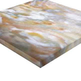 Woodland Camaflauge Canvas Print