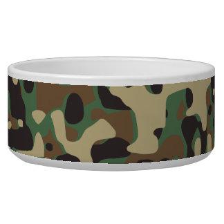 Woodland Camo Bowl