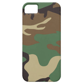 Woodland Camo Camouflage iPhone 5 Case