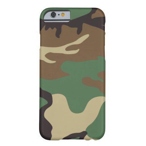 Woodland Camo Camouflage iPhone 6 case