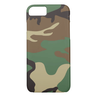 Woodland Camo Camouflage iPhone 7 case