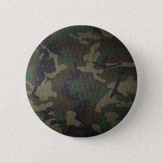 Woodland Camo Fabric Button