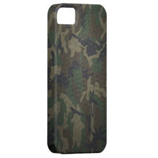 Woodland Camo Fabric iPhone 5 Covers